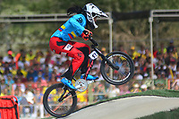 BARRANQUILLA - COLOMBIA, 28-07-2018:Maria Camila Restrepo (COL) en competencia de BMX , .Juegos Centroamericanos y del Caribe Barranquilla 2018. /Maria Camila Rstrepo in actions BMX competition of the Central American and Caribbean Sports Games Barranquilla 2018. Photo: VizzorImage /  Contribuidor