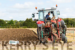 Earth work<br /> --------------<br /> Michael O'Halloran from Ballyheigue carefully sets down his 2 furrow reversible plough in the intermediate class at the National Ploughing Championships in Tullamore last Tuesday.
