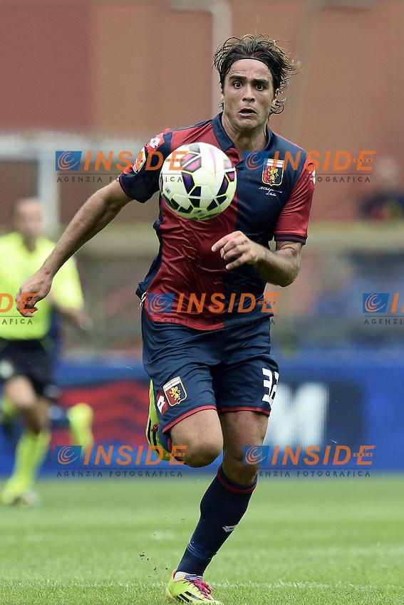 Alessandro Matri Genoa <br /> Genova 21-09-2014 Stadio Luigi Ferraris - Football Calcio Serie A Genoa - Lazio. Image Sport / Foto Insidefoto