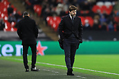 6th December 2017, Wembley Stadium, London England; UEFA Champions League football, Tottenham Hotspur versus Apoel Nicosia; Tottenham Hotspur Manager Mauricio Pochettino
