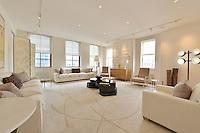 Living Room at 53 Leonard Street
