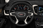 Car pictures of steering wheel view of a 2018 GMC Terrain Denali base 5 Door SUV
