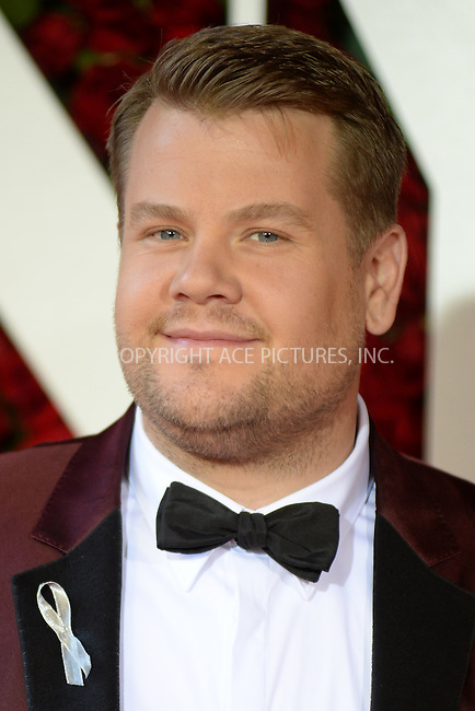 www.acepixs.com<br /> June 12, 2016  New York City<br /> <br /> James Corden attending the 70th Annual Tony Awards at The Beacon Theatre on June 12, 2016 in New York City.<br /> <br /> Credit: Kristin Callahan/ACE Pictures<br /> <br /> <br /> Tel: 646 769 0430<br /> Email: info@acepixs.com