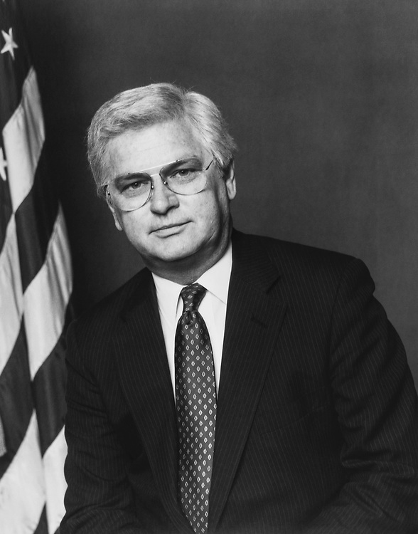 Close- up of Rep. Hal Rogers, R-Ky. 1992 (Photo by Maureen Keating/CQ Roll Call via Getty Images)
