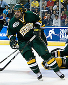 Jack Downing (Vermont - 21) - The University of Vermont Catamounts defeated the Yale University Bulldogs 4-1 in their NCAA East Regional Semi-Final match on Friday, March 27, 2009, at the Bridgeport Arena at Harbor Yard in Bridgeport, Connecticut.