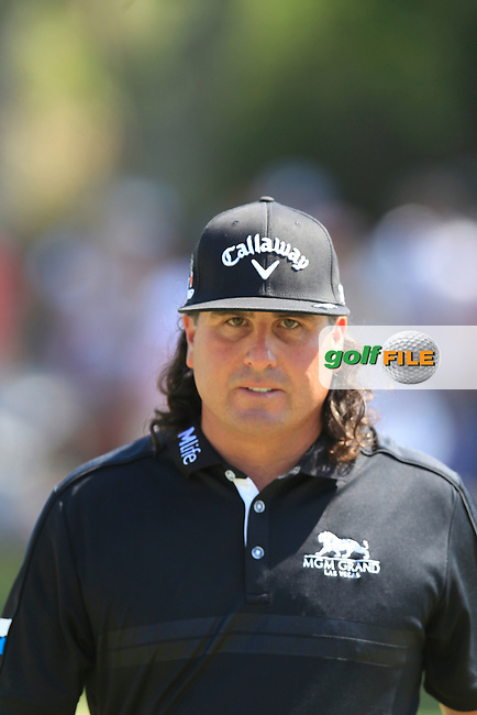 Pat Perez (USA) on the 9th during the final round of The Players, TPC Sawgrass, Ponte Vedra Beach, Florida, United States. 10/05/2015<br /> Picture Fran Caffrey, www.golffile.ie
