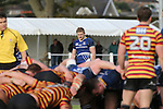 Leinster centre Steve Crosbie.<br /> British &amp; Irish Cup<br /> Carmarthen Quins v Leinster A<br /> Carmarthen Park<br /> 25.10.14<br /> &copy;Steve Pope-SPORTINGWALES