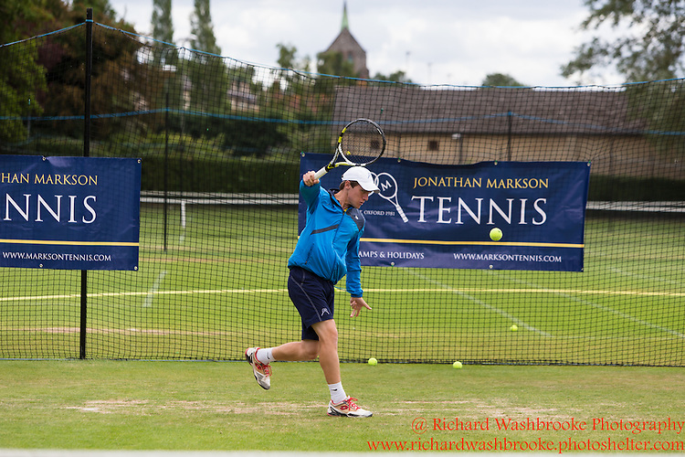 Jonathan Markson Tennis, Oxford Week 4  22nd July 2015<br /> <br /> Photo:  - Richard Washbrooke Photography
