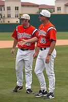 SAN ANTONIO, TX - MAY 14, 2006: The Sam Houston State University Bearkats vs. The University of Texas at San Antonio Roadrunners Baseball at Roadrunner Field. (Photo by Jeff Huehn)