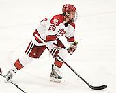Luke Greiner (Harvard - 26) - The Harvard University Crimson defeated the University of New Hampshire Wildcats 7-6 on Tuesday, November 22, 2011, at Bright Hockey Center in Cambridge, Massachusetts.