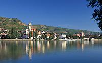Austria, Lower Austria, Wachau, Stein at river Danube: district of town Krems