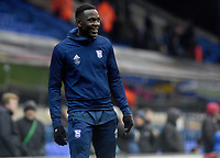 Ipswich Town's Josh Emmanuel<br /> <br /> Photographer Hannah Fountain/CameraSport<br /> <br /> The EFL Sky Bet Championship - Ipswich Town v Wigan Athletic - Saturday 15th December 2018 - Portman Road - Ipswich<br /> <br /> World Copyright &copy; 2018 CameraSport. All rights reserved. 43 Linden Ave. Countesthorpe. Leicester. England. LE8 5PG - Tel: +44 (0) 116 277 4147 - admin@camerasport.com - www.camerasport.com