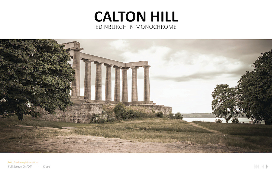 Calton Hill<br /> This particular project was conceived during one of our trip to Scotland. Set in the city of Edinburgh, this series of monochrome photographs captured a deep nostalgic feeling of the old monuments.