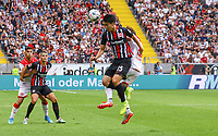 Daichi Kamada (Eintracht Frankfurt) Kopfball  - 01.09.2019: Eintracht Frankfurt vs. Fortuna Düsseldorf, Commerzbank Arena, 3. Spieltag<br /> DISCLAIMER: DFL regulations prohibit any use of photographs as image sequences and/or quasi-video.