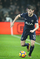 Ben Davies of Spurs during the Premier League match between Swansea City and Tottenham Hotspur at the Liberty Stadium, Swansea, Wales on 2 January 2018. Photo by Mark Hawkins / PRiME Media Images.