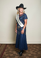 1974 winner of the Miss Rodeo Queen Colorado competition DeAnna Kay Swetzig at the 2016 Miss Rodeo Colorado competition during the Greely Stampede in Greely, Colorado, July 3, 2015.<br /> <br /> Photo by Matt Nager