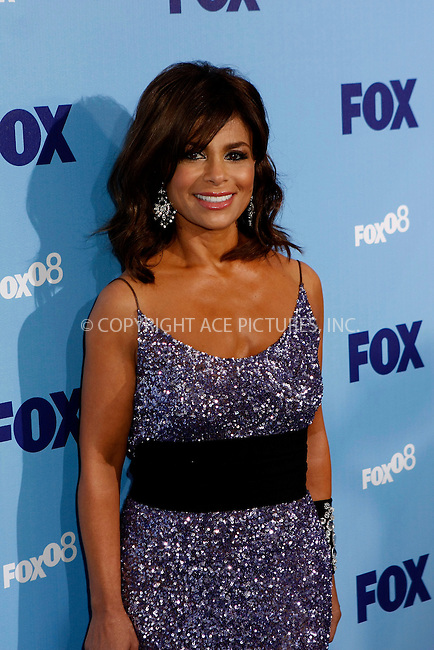 WWW.ACEPIXS.COM . . . . .  ....May 15, 2008. New York City.....Paula Abdul, judge on 'American Idol', attends the Fox Network Upfront held at the Wollman Rink in Central Park.....Please byline: AJ Sokalner - ACEPIXS.COM.... *** ***..Ace Pictures, Inc:  ..Philip Vaughan (646) 769 0430..e-mail: info@acepixs.com..web: http://www.acepixs.com