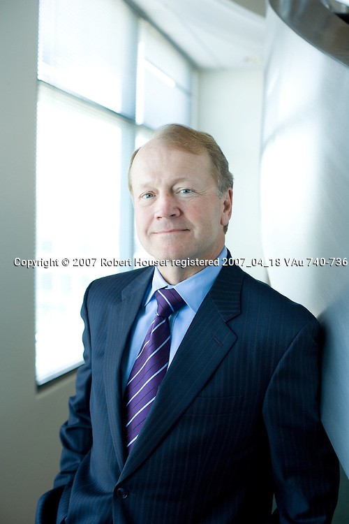 John Chambers - CEO - Cisco: Executive portrait photographs by San Francisco - corporate and annual report - photographer Robert Houser.