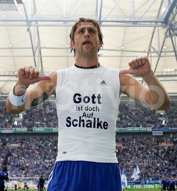 Fussball   1. Bundesliga   Saison 2006/2007   34. Spieltag FC Schalke 04 - Arminia Bielefeld               Marcelo BORDON (Schalke)