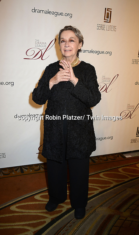 Zoe Caldwell attends the 29th Annual Drama League Gala Musical Celebration of Broadway honoring Audra McDonald on February 11, 2013 at the Pierre Hotel in New York City.