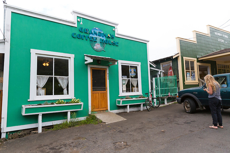 Grandma's Coffee House in Keokea, Upcountry, Maui, Hawaii