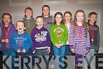 Members of Squad C swimming team of the Kenmare Bay Swimming club after receiving their medals at the first ever swimming gala for the club last weekend.