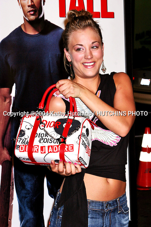 "©2004 KATHY HUTCHINS / HUTCHINS PHOTO.PREMIERE OF "" WALKING TALL "".GRAUMAN'S CHINESE THEATER.HOLLYWOOD, CA.MARCH 29, 2004..KALEY CUOCO"