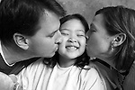Pediatric patient Madison P is pictured with her parents on Jan. 24, 2008, at the American Family Children's Hospital in Madison, Wis. The photography session is coordinated by Flashes of Hope, a nonprofit organization dedicated to creating uplifting portraits of children fighting cancer and other life-threatening illnesses.