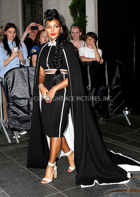 WWW.ACEPIXS.COM<br /> <br /> May 4 2015, New York City<br /> <br /> Janelle Monae on the night of the Met Gala on May 4 2015 in New York City<br /> <br /> By Line: Nancy Rivera/ACE Pictures<br /> <br /> <br /> ACE Pictures, Inc.<br /> tel: 646 769 0430<br /> Email: info@acepixs.com<br /> www.acepixs.com