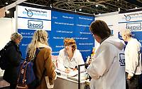 Nederland - Utrecht - 2018. De Nationale Gezondheidsbeurs.  Skepsis. Vereniging tegen kwakzalverij.  Berlinda van Dam / Hollandse Hoogte