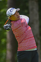 Amy Yang (KOR) watches her tee shot on 2 during round 1 of the U.S. Women's Open Championship, Shoal Creek Country Club, at Birmingham, Alabama, USA. 5/31/2018.<br /> Picture: Golffile | Ken Murray<br /> <br /> All photo usage must carry mandatory copyright credit (&copy; Golffile | Ken Murray)