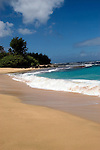 Hawaii: Kauai, Haena Beach at north end of island.  Photo hifree125.Photo copyright Lee Foster, 510/549-2202, lee@fostertravel.com, www.fostertravel.com