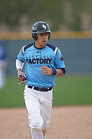 Ismael Lopez (3) of Arington Heights High School in Fort Worth, Texas during the Under Armour All-American Pre-Season Tournament presented by Baseball Factory on January 14, 2017 at Sloan Park in Mesa, Arizona.  (Kevin C. Cox/MJP/Four Seam Images)