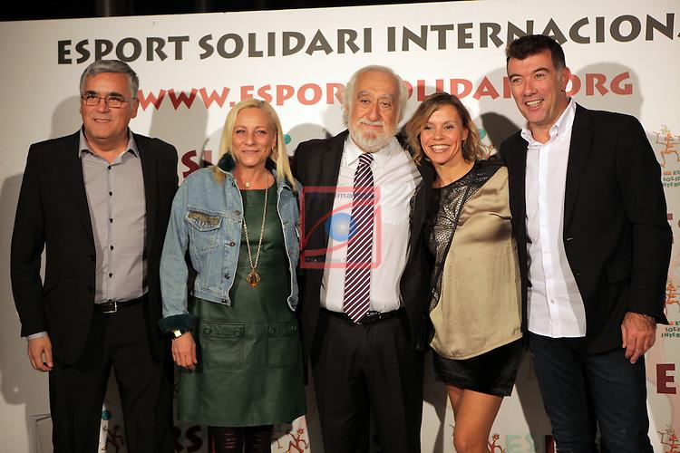 XIe Sopar Solidari d'ESI (Esport Solidari Internacional).<br /> Josep Maldonado, Joan Collet, Pep Plaza &amp; Sras.