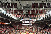 University of Maryland held their first exhibition game of the season as they hosted Northwood at the Comcast Center on Friday night.