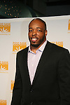 New York Jets Calvin Pace at the Food Bank for New York City as they present the 8th Annual Can-Do Awards Dinner 2010 on April 20, 2010 at Pier Sixty at Chelsea Piers, New York City, New York. (Photo by Sue Coflin/Max Photos)