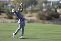 Xander Schauffele (USA) on the 15th fairway during the 1st round of the Waste Management Phoenix Open, TPC Scottsdale, Scottsdale, Arisona, USA. 31/01/2019.<br /> Picture Fran Caffrey / Golffile.ie<br /> <br /> All photo usage must carry mandatory copyright credit (&copy; Golffile | Fran Caffrey)