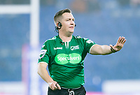 Picture by Allan McKenzie/SWpix.com - 15/03/2018 - Rugby League - Betfred Super League - Huddersfield Giants v Hull KR - John Smith's Stadium, Huddersfield, England - Ben Thaler, referee, Specsavers, branding.
