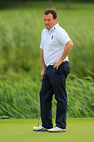 Eamonn Haugh (Castletroy) on the 3rd green during the AIG Barton Shield Munster Final 2018 at Thurles Golf Club, Thurles, Co. Tipperary on Sunday 19th August 2018.<br /> Picture:  Thos Caffrey / www.golffile.ie<br /> <br /> All photo usage must carry mandatory copyright credit (© Golffile   Thos Caffrey)