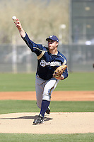 Cody Scarpetta, Milwaukee Brewers 2010 minor league spring training..Photo by:  Bill Mitchell/Four Seam Images.