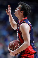 Caja Laboral Baskonia's Thomas Heurtel during Liga Endesa ACB match.January 6,2012. (ALTERPHOTOS/Acero) /NortePhoto