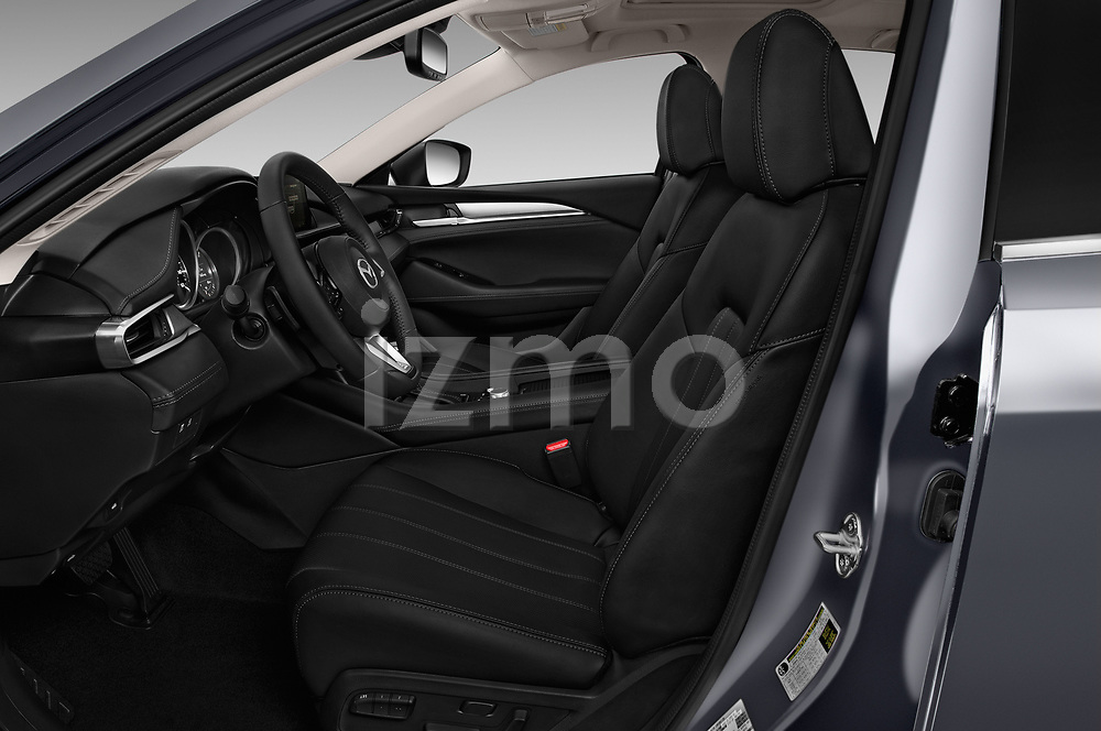 Front seat view of a 2019 Mazda Mazda6 Grand Touring Reserve 4 Door Sedan front seat car photos