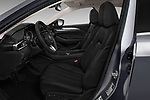 Front seat view of a 2018 Mazda Mazda6 Grand Touring Reserve 4 Door Sedan front seat car photos