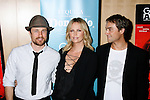 """BEVERLY HILLS, CA. - September 22: Actors Martin Henderson, Charlize Theron and Writer/Director Stuart Townsend arrive at a special screening of """"Battle in Seattle"""" held at the Clarity Theater on Monday September 22, 2008 in Beverly Hills, California."""