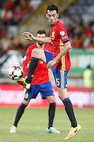 Spain's Sergio Busquets during FIFA World Cup 2018 Qualifying Round match. September 5,2016.(ALTERPHOTOS/Acero)