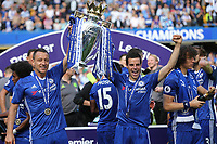 John Terry and Cesar Azpilicueta of Chelsea celebrate winning the Premier League during Chelsea vs Sunderland AFC, Premier League Football at Stamford Bridge on 21st May 2017