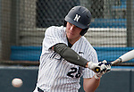 March 30, 2012:   Nevada Wolf Pack's Austin Byler swings against the BYU Cougars during their NCAA baseball game played at Peccole Park on Friday afternoon in Reno, Nevada.