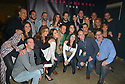 MIAMI, FL - FEBRUARY 29: Mario Domm and Pablo Hurtado of Latin Pop Rock Group Camila backstage pose for picture with staff and promoter at James L. Knight Center on February 29, 2020 in Miami, Florida.  ( Photo by Johnny Louis / jlnphotography.com )