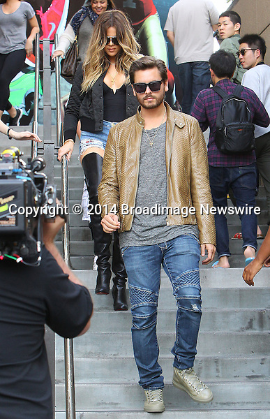 Pictured: Kendall Jenner, Khloe Kardashian, Scott Disick<br /> Mandatory Credit &copy; ACLA/Broadimage<br /> Khloe Kardashian arriving at Loews Hollywood Hotel<br /> <br /> 3/7/14, Hollywood, California, United States of America<br /> <br /> Broadimage Newswire<br /> Los Angeles 1+  (310) 301-1027<br /> New York      1+  (646) 827-9134<br /> sales@broadimage.com<br /> http://www.broadimage.com