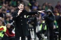 """Cesare Prandelli Italia.Ginevra 21/03/2013 Stadio """"De Geneve"""".Football Calcio Amichevole Internazionale.Brasile Vs Italia - Brazil Vs Italy.Foto Insidefoto Paolo Nucci."""